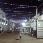 DEVOTEE CITY. The rows of container vans serve as temporary homes of Sto. Niño pilgrims who have nowhere else to stay in Cebu City.