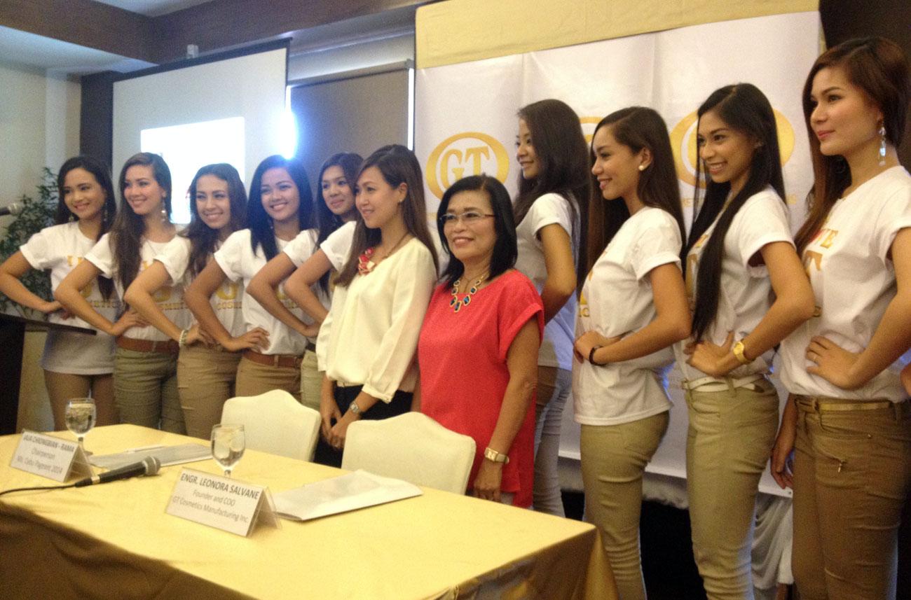 GT Cosmetics - Miss Cebu 2014