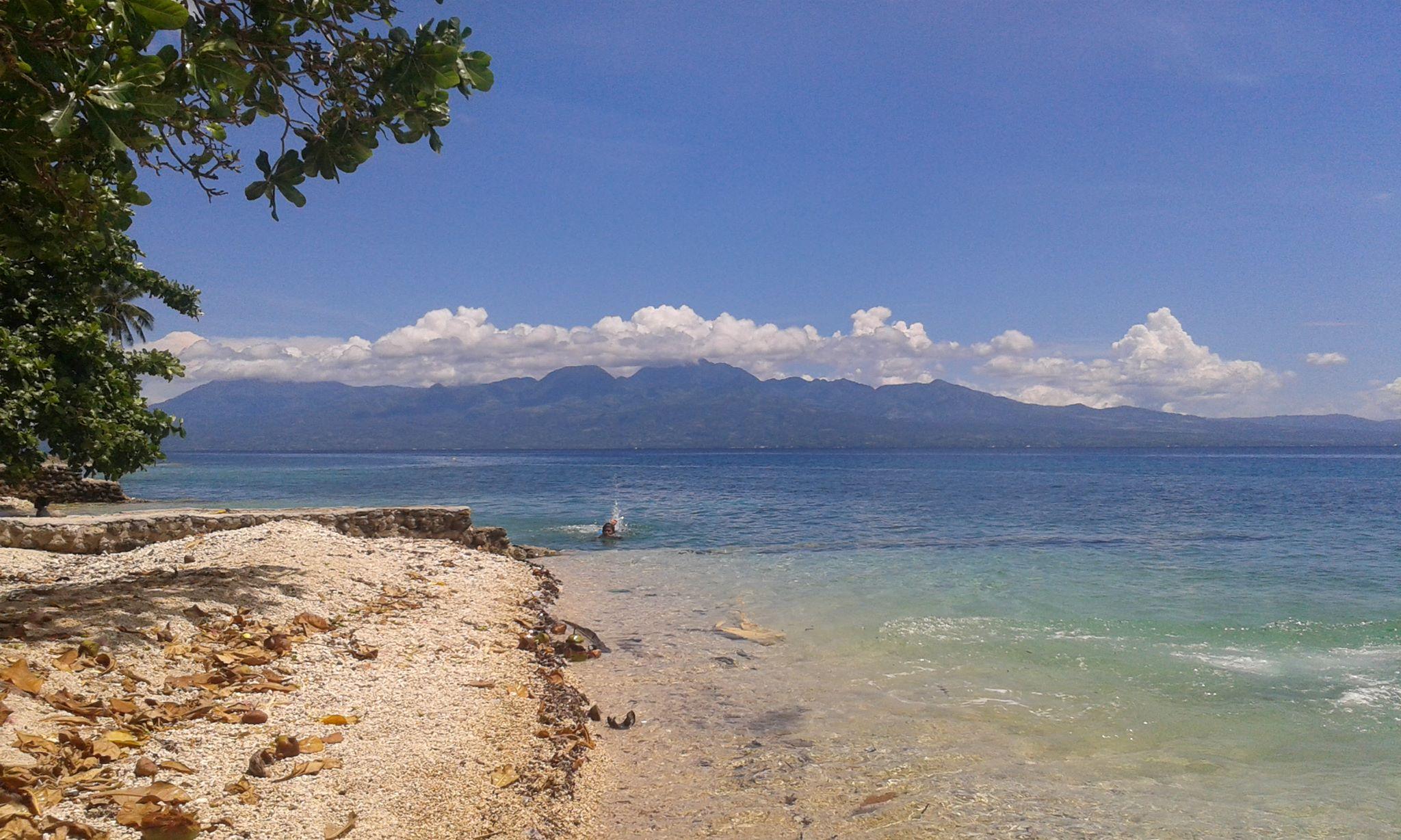 Samboan coast