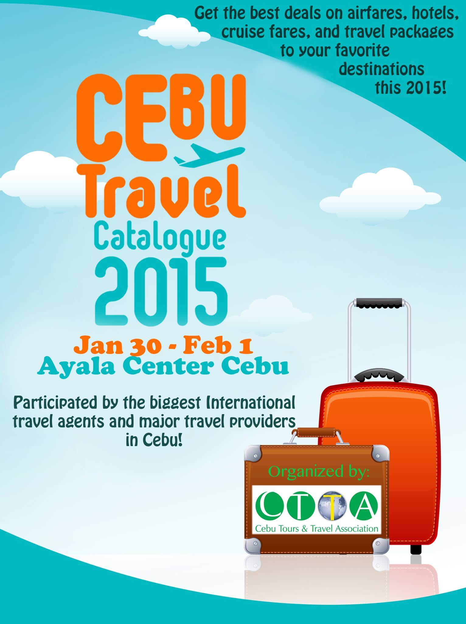 cebu travel catalogue 2015 offers low airfares discounted tour packages
