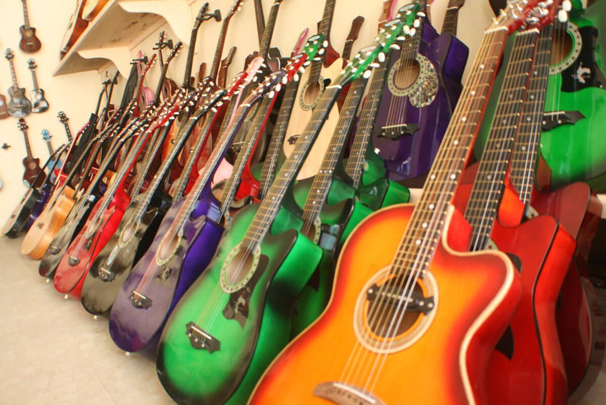 Lapu-Lapu Guitar. If you want to buy quality guitars at an affordable price, head to Lapu-Lapu City. (Photo provided by Lapu-Lapu City Hall)