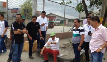 Mayor Rama S. Osmena inspection