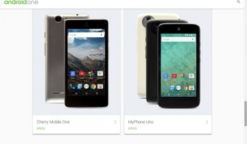 Google Android One Cherry Mobile MyPhone