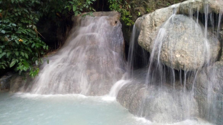 Aguinid Falls 4th level in Samboan, Cebu