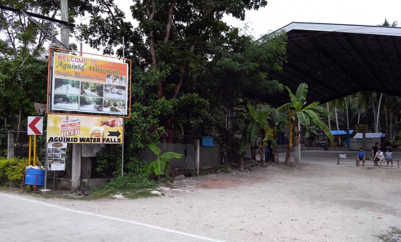 Aguinid Falls in Samboan, Cebu
