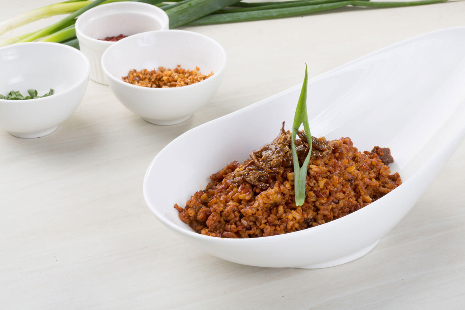 Salinas Buwad and Aligue on Red Rice