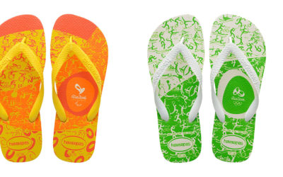 Havaianas joins Olympics with Rio 2016 collection