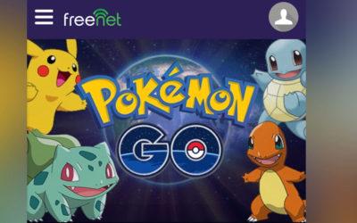 Enjoy the Pokemon GO craze with freenet, PayMaya
