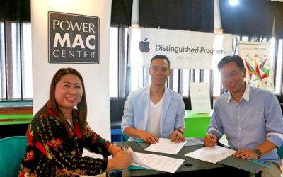 Power Mac Center partners with University of Visayas New School of Art & Design