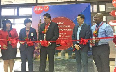 AirAsia launches new Cebu flights to Singapore, Taipei