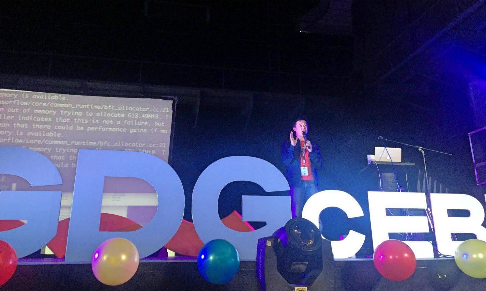 Albert Padin GDG DevFest Cebu