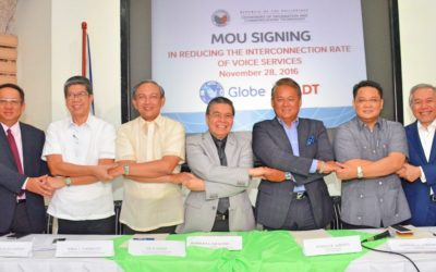 Globe, PLDT sign agreement to cut interconnection rate for voice calls