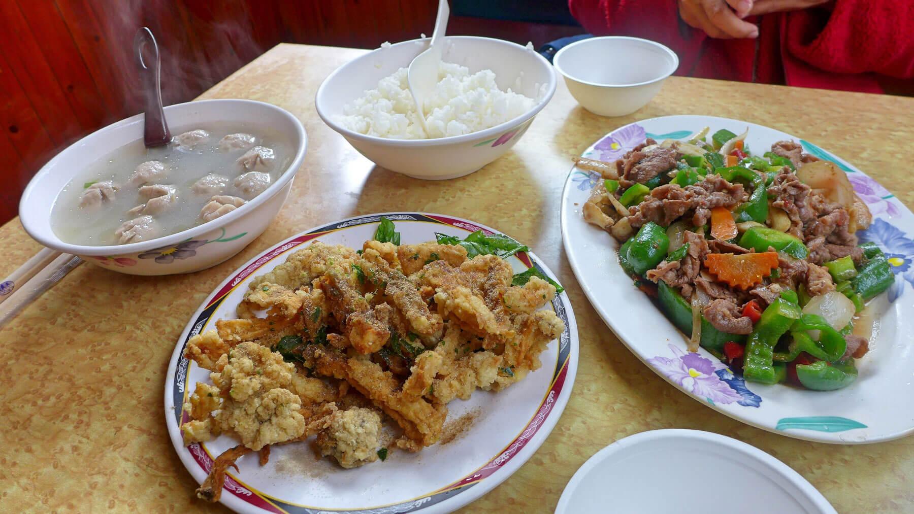 Alishan food
