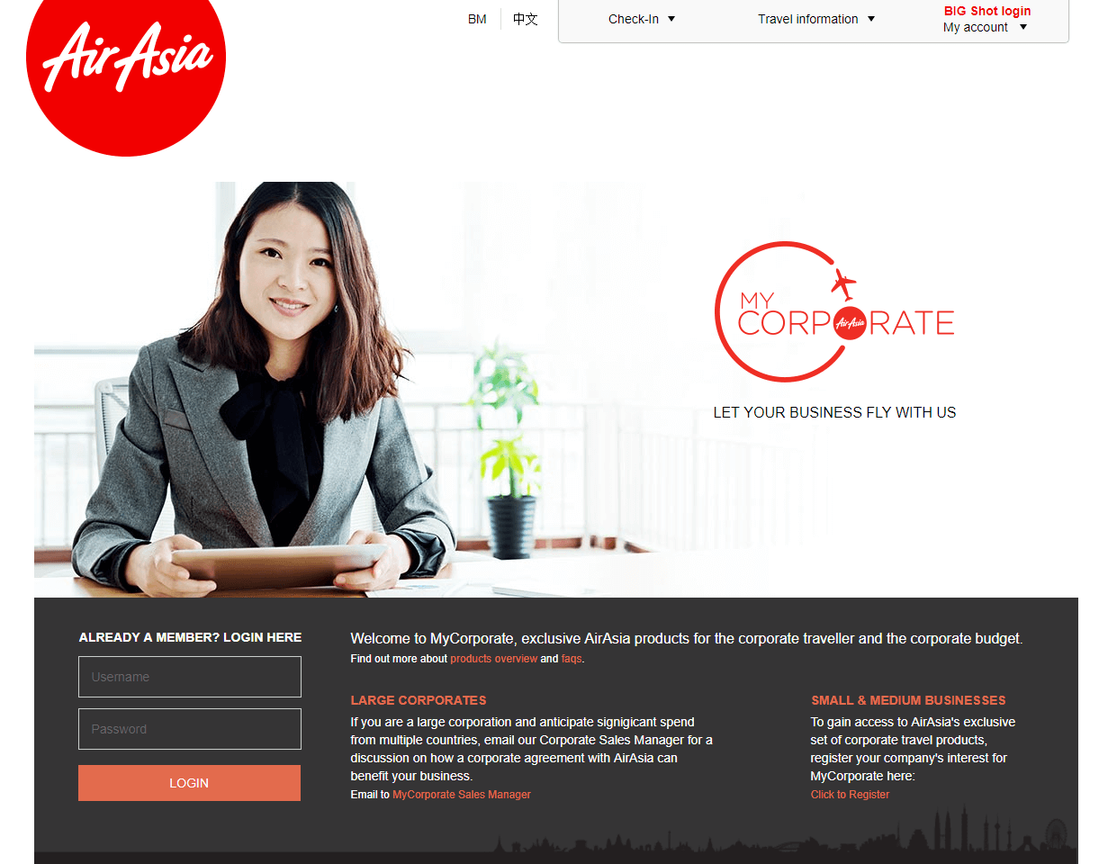 AirAsia My Corporate
