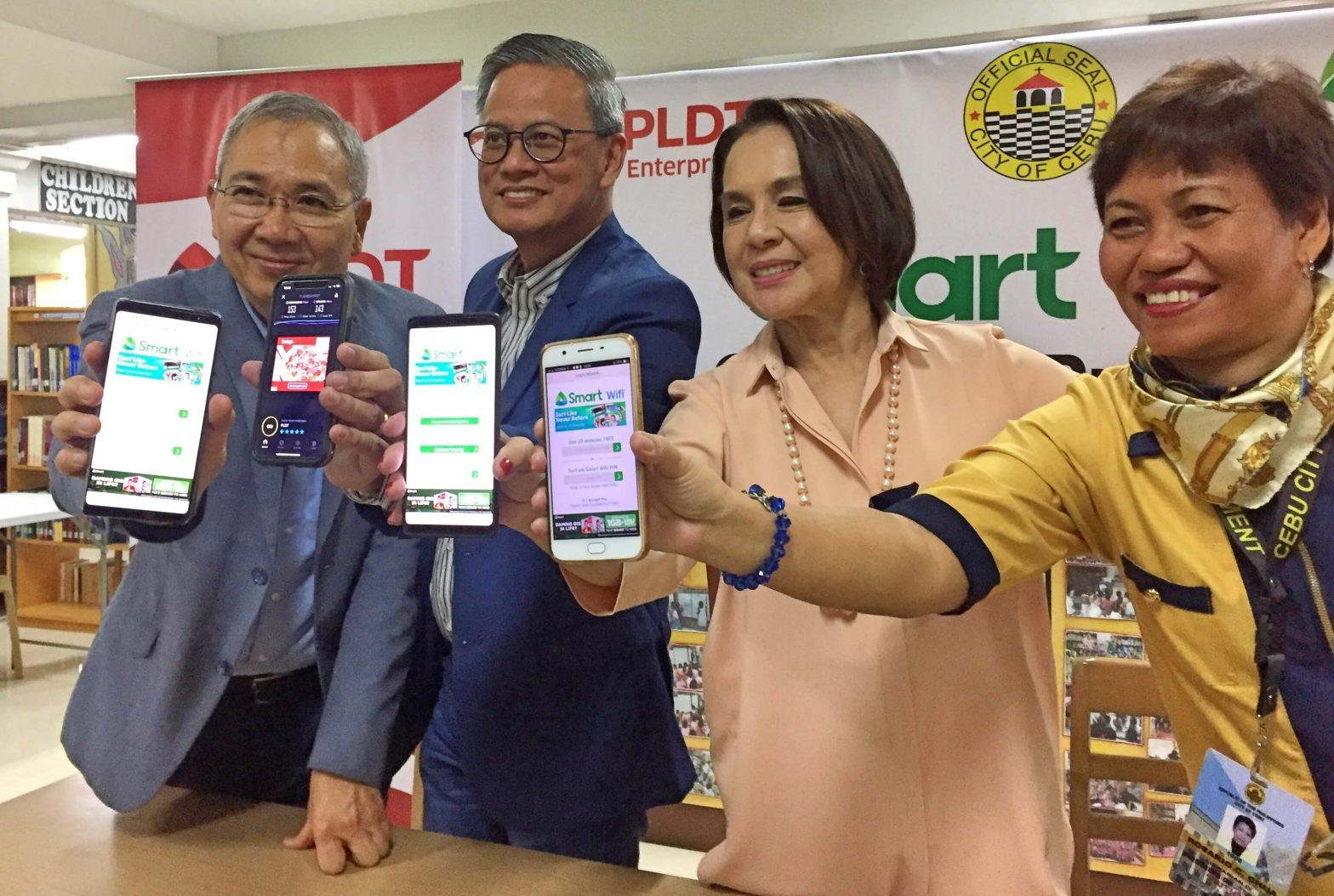 Cebu City public library Smart wifi