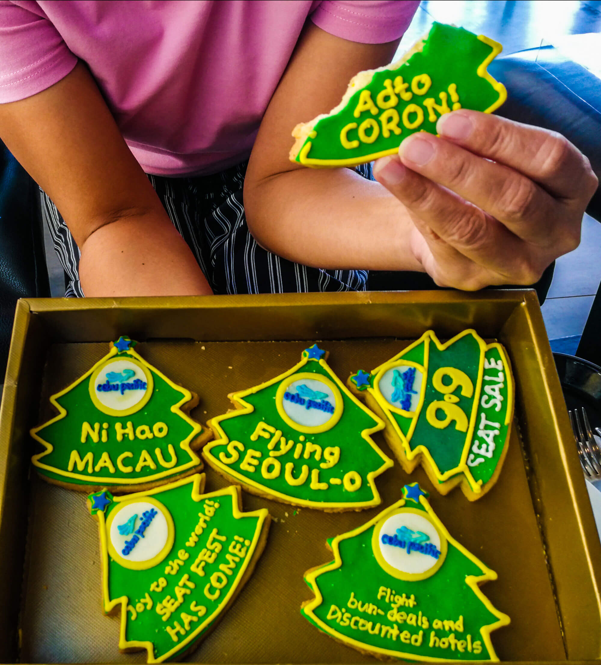 #CEBPACSuperSeatFest. Cebu Pacific greets the start of the Philippine Christmas season with a seat sale to kick off the first of the 'BER' months.