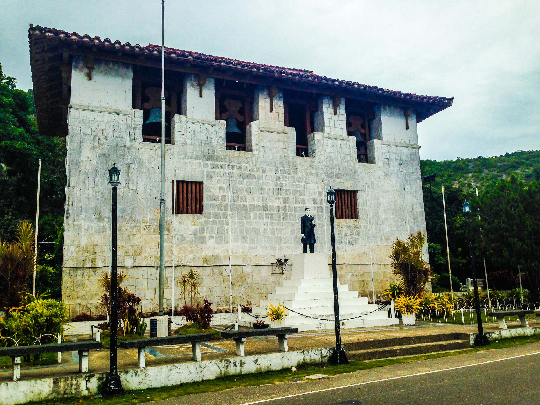 El Gran Baluarte in the Nuestra Señora del Patrocinio de Maria Parish Church compound in Boljoon.