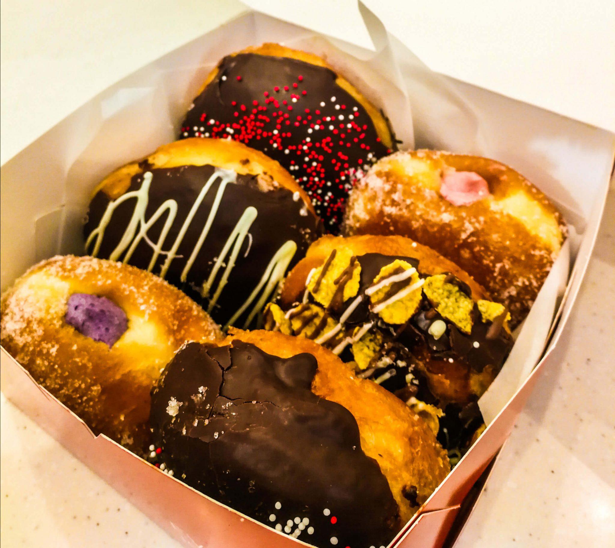 Brick Lane Doughnuts box