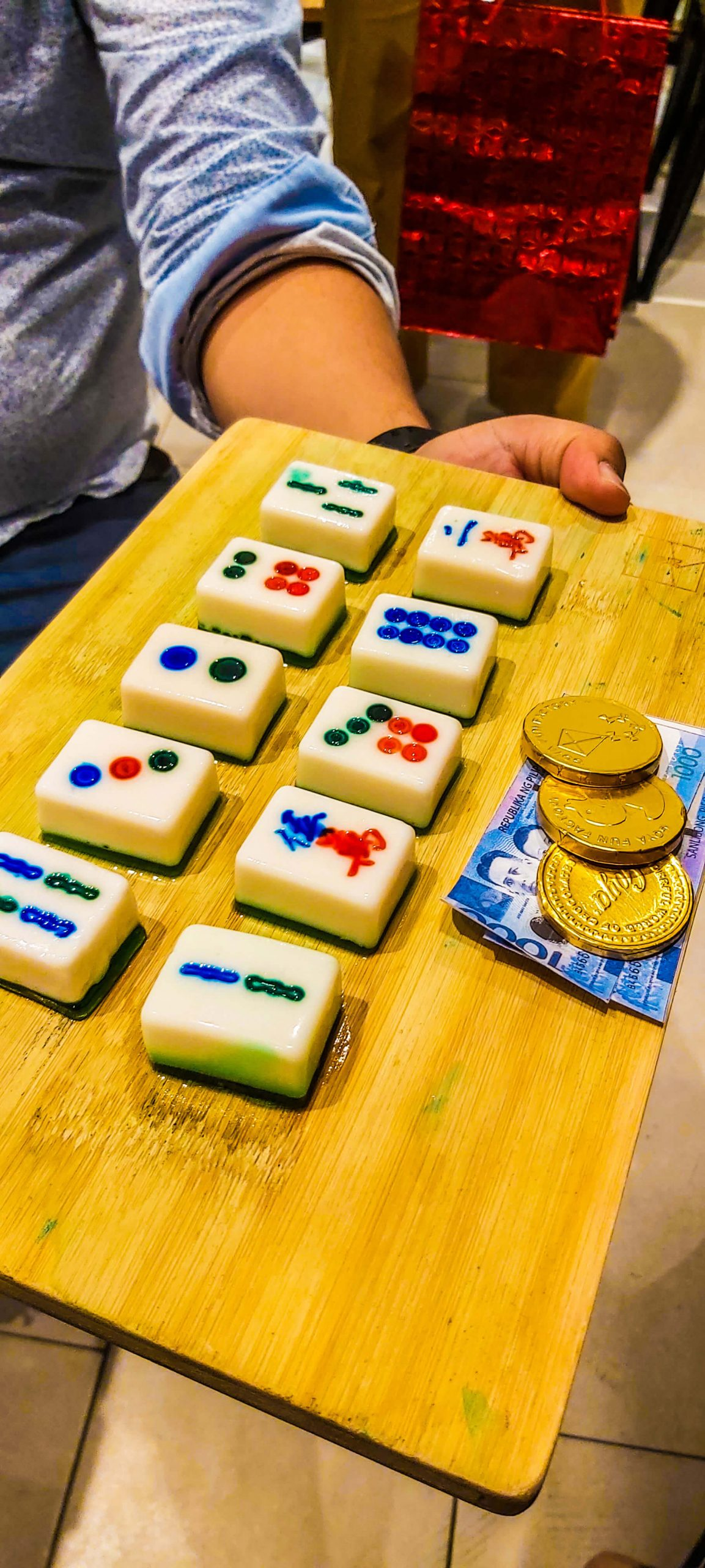 DESSERT. These mahjong tiles are actually sweet treats.