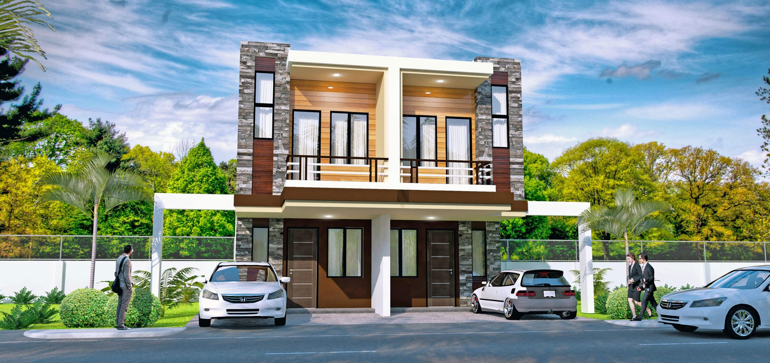 The project has a mix of townhouse, single attached, single detached, and duplex units that range from P3.7 to 5 million.